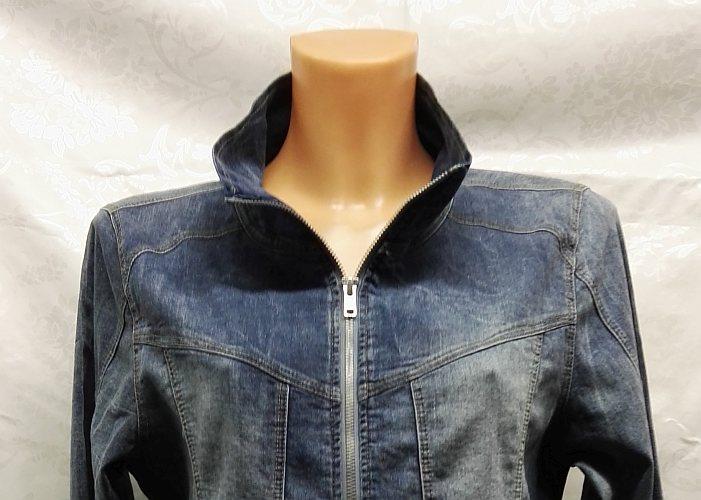 Dámská riflová bunda na zip od německé značky Kennys. 1f08af0969