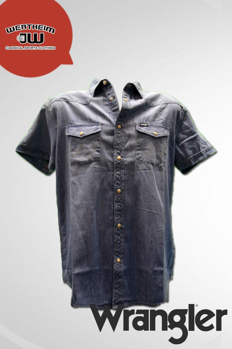 4793c031924 WRANGLER - Pánská džínová košile